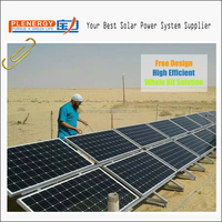 Monocrystalline 320w 5kw off grid solar system for home