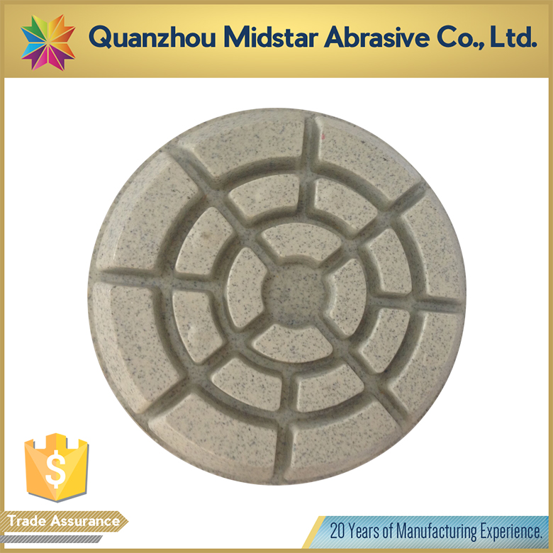 Low Price resin polishing pads for concrete and terrazzo manufacturer