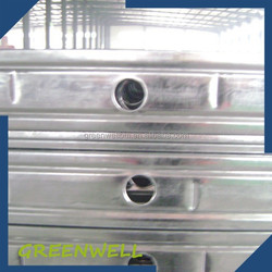 Galvanized steel structure C channel light gauge steel framing