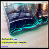 RGB LED lighting glass bar counter tops