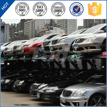 mini parking system/parking guidance system for underground garage parking