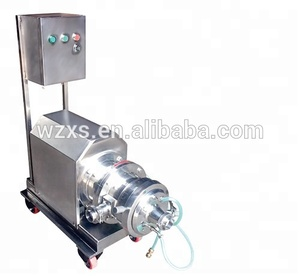 SS316 food colloid rice grinding mill machine