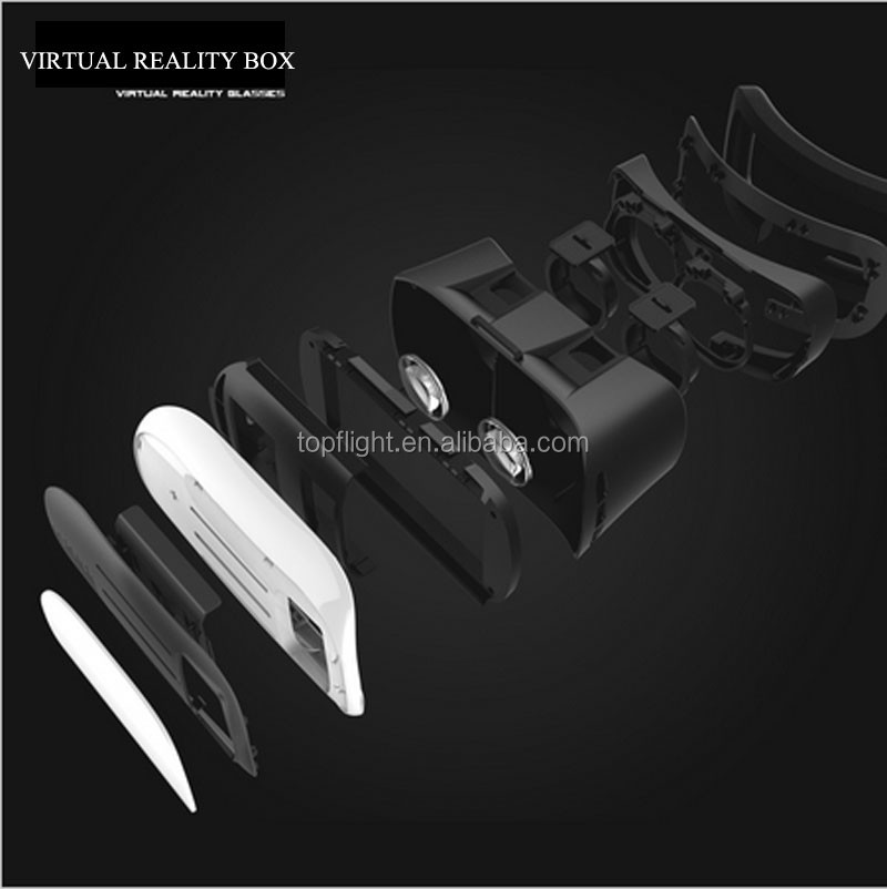 Virtual Reality Glasses II 2.0 Optical Glasses Equipment 3D Glasses Headset For 3.5 - 6.0 inch Smartphone IOS & Android
