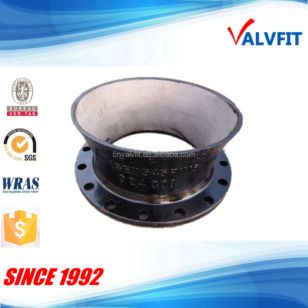 ISO2531/EN545 Ductile Iron flanged bellmouth