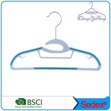 plastic hanger suit children Non slip clothes hanger