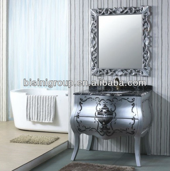Bisini New Classical Bathroom Furniture set,Cabinet Bathroom;Bathroom Cabinet set;(BF08-4053)