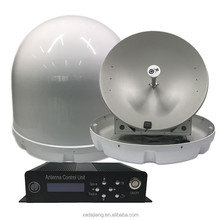 Boat Use Auto Tracking and Positioning Marine Satellite TV Antenna
