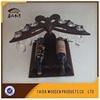 Wooden Painting Wine Single Bottle Stand Holder Rack