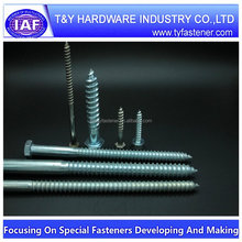 Low price promotional hex lag screw m7 bolt