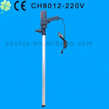 2013 latest models of portable ac barrel pump CH8012