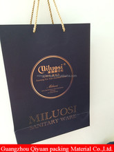 Custom company names printed different types paper bags with your own logo