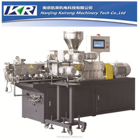 Twin-Screw Extruder Machine /PP/PE/CaCo3 Filling Compounding Plastic Pelletizing Extruder Machine
