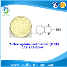 2-Mercaptobenzothiazole 98% CAS 149-30-4 MBT for Copper corrosion inhibitor