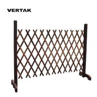 VERTAK Flexible expanding fence, expandable wooden screen trellis