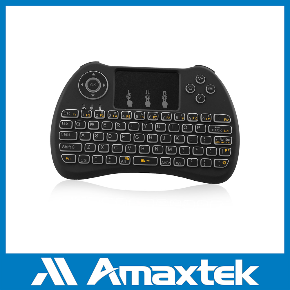 Portable Smart TV Wireless Mouse Keyboard with Backlight Function