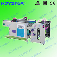 Cheap automatic silk screen label printing machine with micro registration