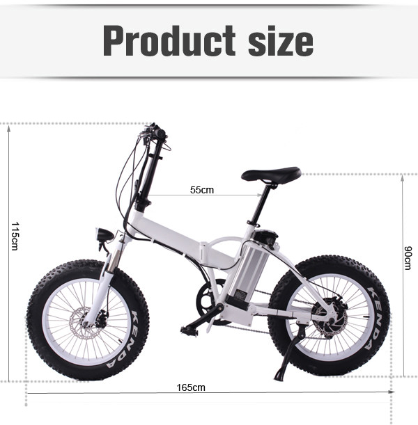 MOTORLIFE/OEM brand HOT SALE 36v 250w folding electric fat bike, small folding electric bicycle