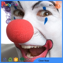 Hot Sale 2015 Party Supplies Wholesale China Red Foam Clown Nose Sponge Clown Nose