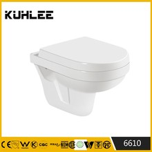 KL-6610 Wall hung wc toilet parts Concealed Cistern Toilet
