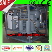 Double-stage Vacuum Transformer Oil Purification Plant Model ZYD 18000L/H