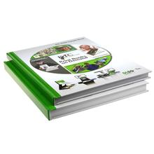 A5 art paper offset printing hard cover book printing