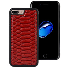 Snakeskin pu leather cell phone back cover case for iPhone 6