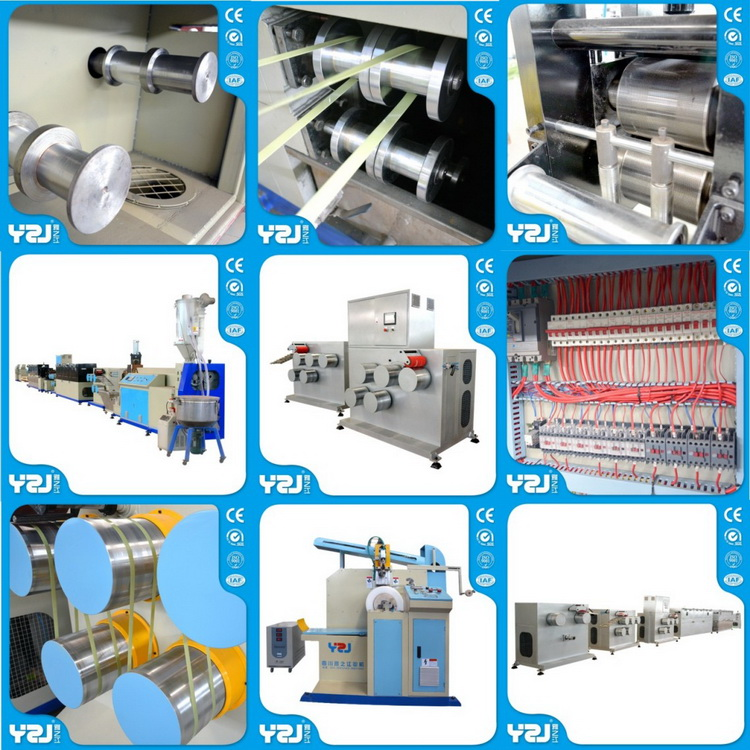 packing company needed Plastic PP Strap Band Extrusion Machine