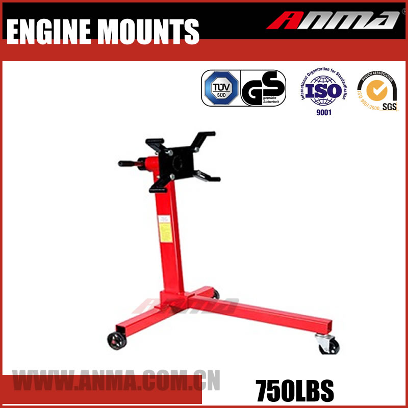 Wholesale Customize adjustable hydraulic 750LBS car engine repair stand AM121100750