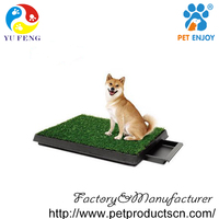 New Indoor Pet Potty Dog Training Grass Pad Zoom Park Patch Mat 20*25*2