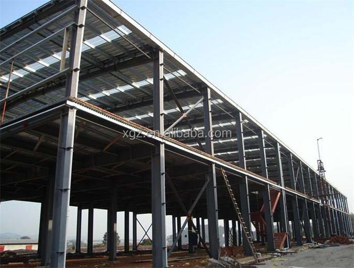 Two story prefabricated metal office building buy metal for 2 story steel building