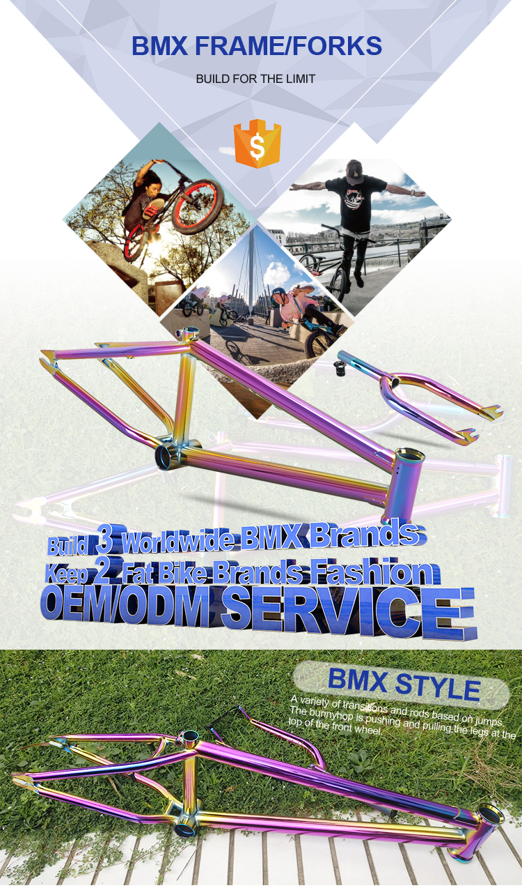 Freestyle wholesale cheap price high quality bmx bicycle parts wholesale cheap price excellent quality chromoly 4130 bmx frame