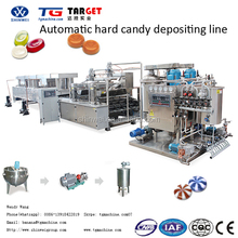 Automatic small fruit hard candy making machine with servo control