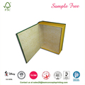 Tea Storage Packing Book Empty Gift Box