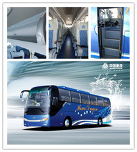 EuroII Emission Chinese 50-60 seat luxury tour bus sale