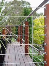 American people's favorable deck railing design