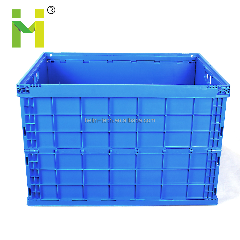 storage foldable collapsible plastic vegetable crate