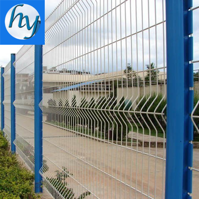 Galvanized PVC Coated Welded Wire Mesh Fence/Vinyl Coated Welded Wire Mesh Fence