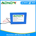 Factorry Customized lipo battery 24v 10ah Lithium Polymer Battery pack