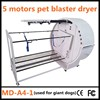 2015 Full-automatic stand pet dryer dog hair grooming dryer blaster used for giant dogs(5 motors)A4-1