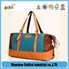 Hot selling pu leahter duffel bag,simple design cow leather travel bag,men leather travel bag