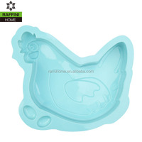 Animal Chicken Shaped Silicone Cake Mould
