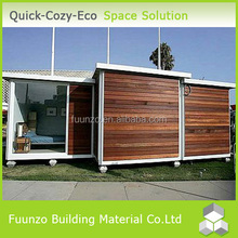New technology Prefabricated Green House with Timber Cladding
