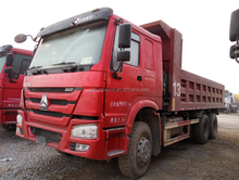 Used Sinotruck dump truck 30ton second hand tipper HOWO dump truck