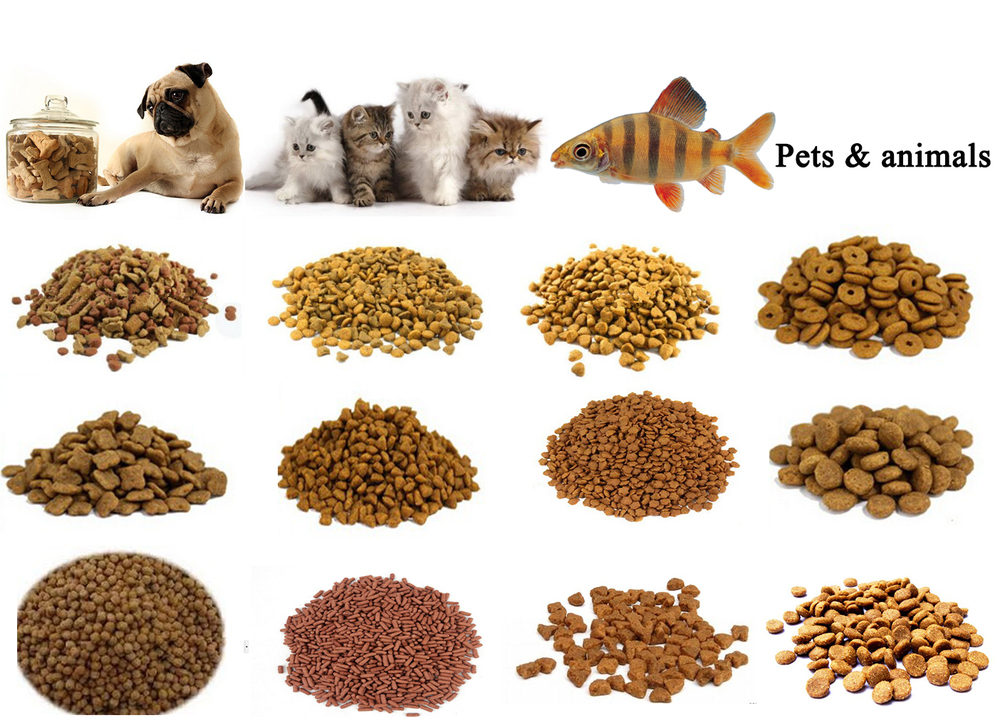 CE Approved Automatic Pet Treats/Dog Chew Food Processing Line