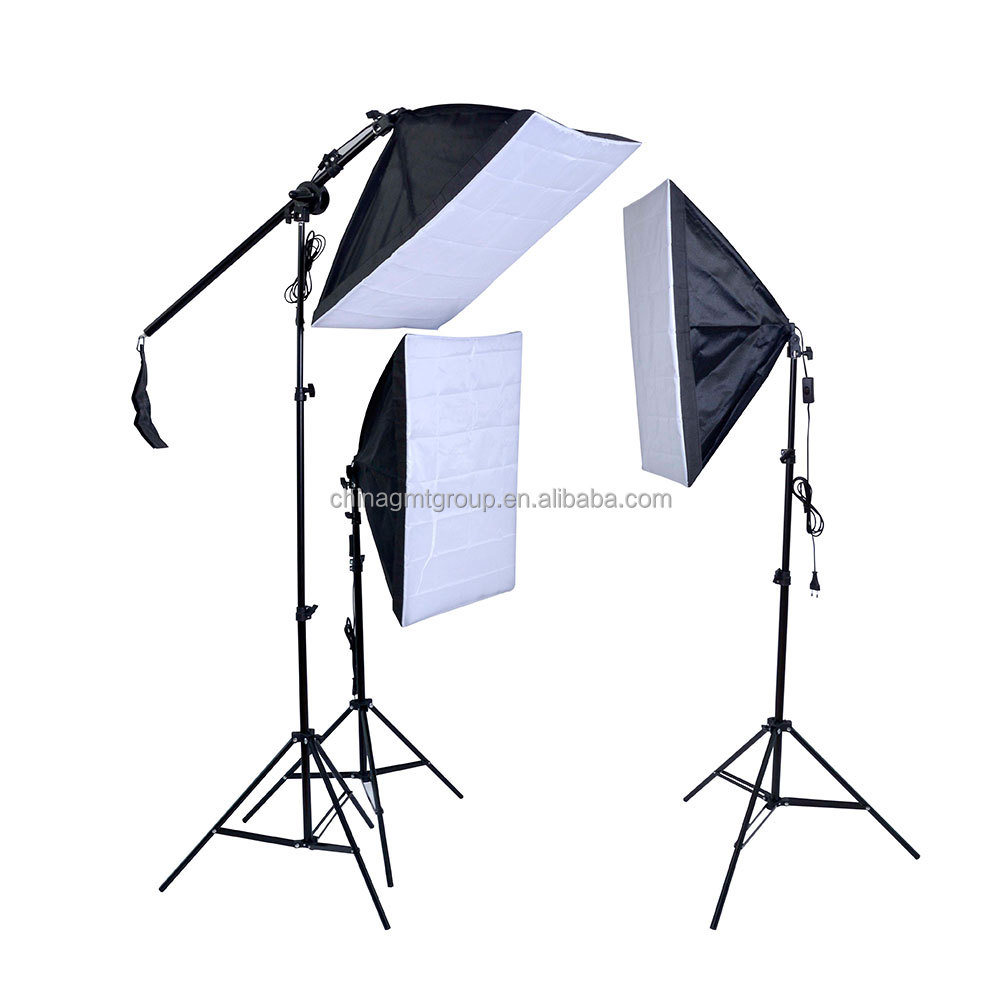 Photographic Studio Speedlight Softbox Light Stand Kit