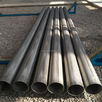"DMD Stainless Welded 8"" Drainage Pipe"