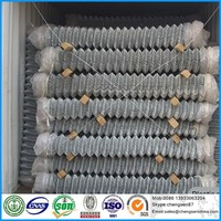 Plastic chain link fence poultry cage with CE certificate