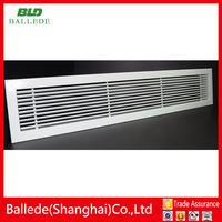 2015 popular high quality air conditioning linear grilles diffusers for ventilation