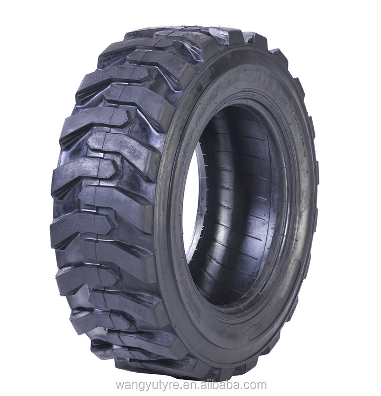 Industrial pneumatic L-2 pattern tyre with size 12-16.5 and 10-16.5