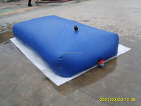 5 years life-time Irrigation PVC coated water tank